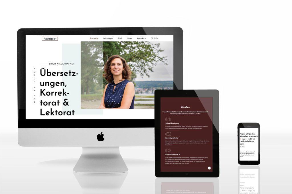 Neue Website von instantidee